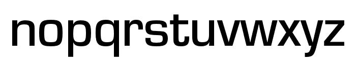 Eurostile Extd Medium Font LOWERCASE