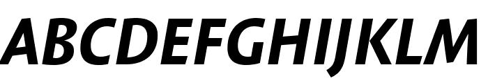 Expo Sans Pro Bold Condensed Italic Font UPPERCASE