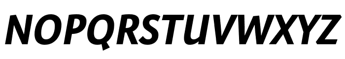 Expo Sans Pro Bold Italic Font UPPERCASE