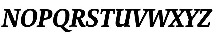 Expo Serif Pro Bold Italic Font UPPERCASE