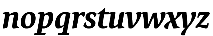 Expo Serif Pro Bold Italic Font LOWERCASE
