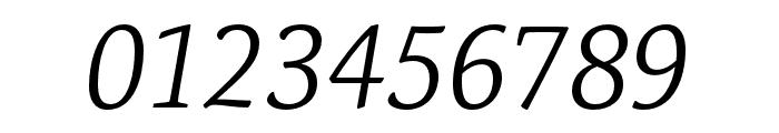 Expo Serif Pro Light Italic Font OTHER CHARS