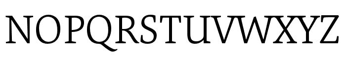Expo Serif Pro Light Font UPPERCASE