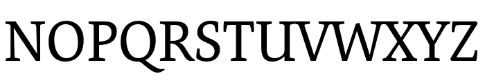 Expo Serif Pro Regular Font UPPERCASE