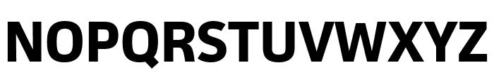 Facit Bold Font UPPERCASE