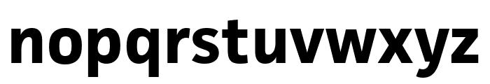 Facit Bold Font LOWERCASE