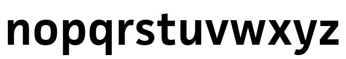 Facit Semibold Font LOWERCASE