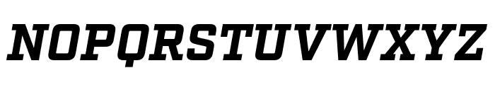 Factoria Bold Italic Font UPPERCASE
