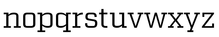 Factoria Book Font LOWERCASE