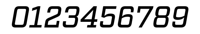 Factoria Medium Italic Font OTHER CHARS