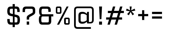 Factoria Medium Font OTHER CHARS