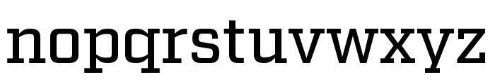 Factoria Medium Font LOWERCASE