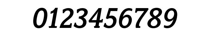 Fairplex Narrow OT Med Italic Font OTHER CHARS