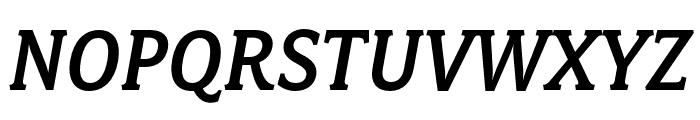 Fairplex Narrow OT Med Italic Font UPPERCASE