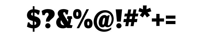 Fairplex Wide OT Black Font OTHER CHARS