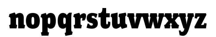 Fairplex Wide OT Black Font LOWERCASE