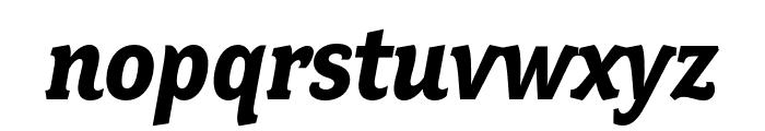 Fairplex Wide OT Bold Italic Font LOWERCASE