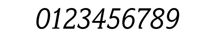 Fairplex Wide OT Book Italic Font OTHER CHARS