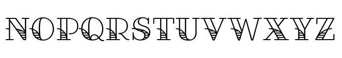 Fairwater Script Bold Font LOWERCASE