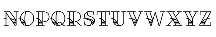 Fairwater Script Regular Font UPPERCASE