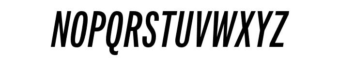 Fairweather Bold Italic Font UPPERCASE