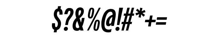 Fairweather ExtraBold Italic Font OTHER CHARS
