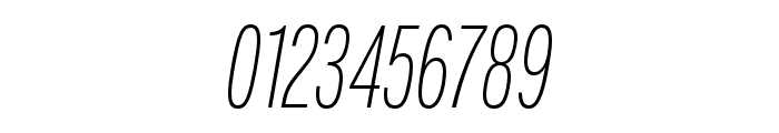 Fairweather ExtraLight Italic Font OTHER CHARS