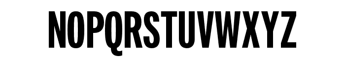 Fairweather Heavy Font UPPERCASE