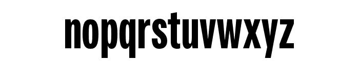 Fairweather Heavy Font LOWERCASE