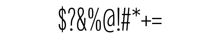 Fairweather Light Font OTHER CHARS