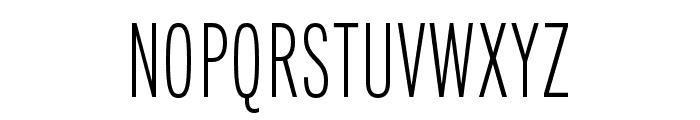 Fairweather Light Font UPPERCASE