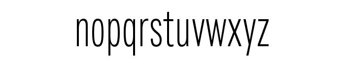 Fairweather Light Font LOWERCASE