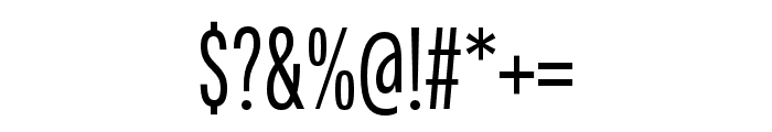 Fairweather Regular Font OTHER CHARS