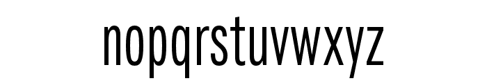 Fairweather Regular Font LOWERCASE