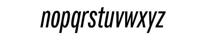 Fairweather SemiBold Italic Font LOWERCASE