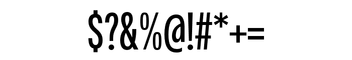 Fairweather SemiBold Font OTHER CHARS