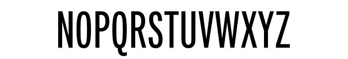 Fairweather SemiBold Font UPPERCASE
