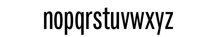 Fairweather SemiBold Font LOWERCASE