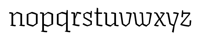 Fakir Display Pro Black Condensed Font LOWERCASE