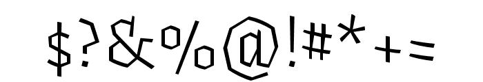 Fakir Pro Regular Font OTHER CHARS