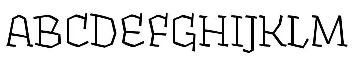 Fakir Pro Regular Font UPPERCASE
