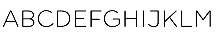 Farm New Light Font UPPERCASE