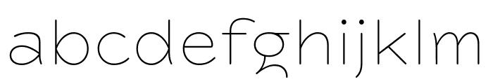 Farm New Thin Font LOWERCASE