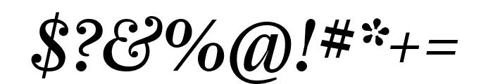 Farnham Display Italic Font OTHER CHARS