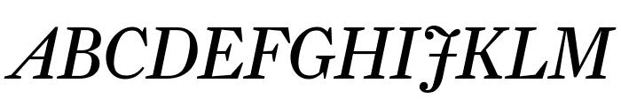 Farnham Display Italic Font UPPERCASE