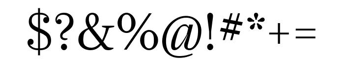 Farnham Display Light Font OTHER CHARS