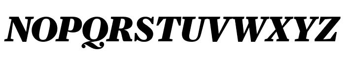 Farnham Headline Black Italic Font UPPERCASE
