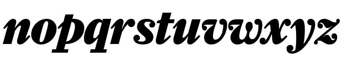 Farnham Headline Black Italic Font LOWERCASE