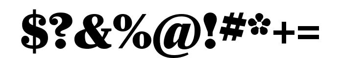 Farnham Headline Black Font OTHER CHARS