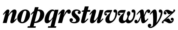 Farnham Headline Bold Italic Font LOWERCASE